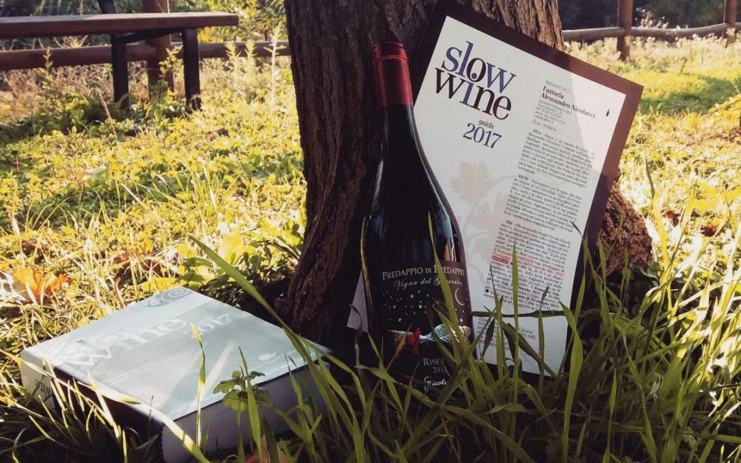 Slow Wine 2017 a Montecatini Terme: un altro premio per il Sangiovese Riserva